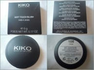 KIKO Soft touch blush 108 - packaging